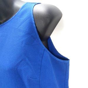 LOFT Dresses - Ann Taylor Loft Blue Peplum Sheath Party Dress 12
